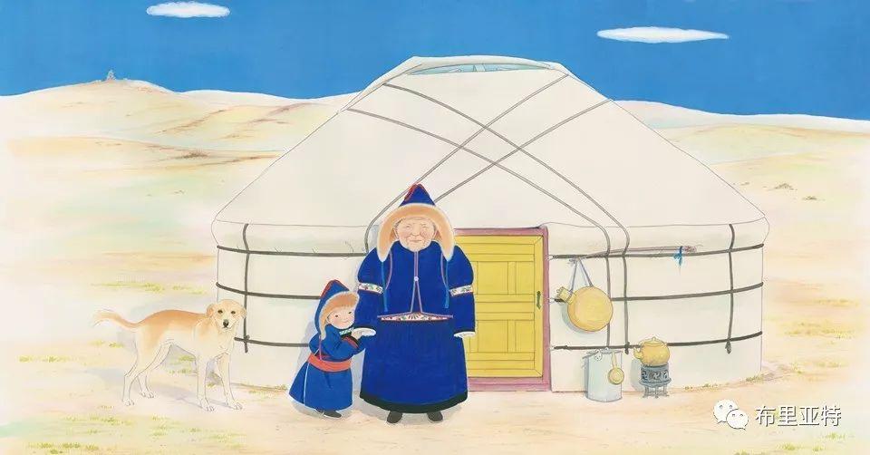 旅日草原画家Oogonbair作品欣赏,太喜欢了 第6张