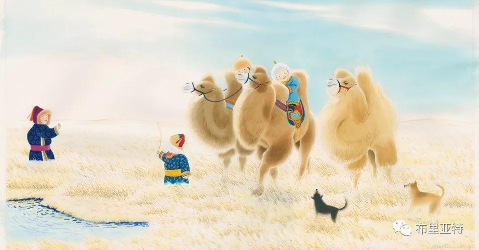 旅日草原画家Oogonbair作品欣赏,太喜欢了 第7张