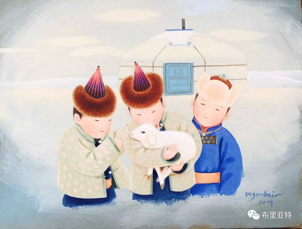 旅日草原画家Oogonbair作品欣赏,太喜欢了 第8张