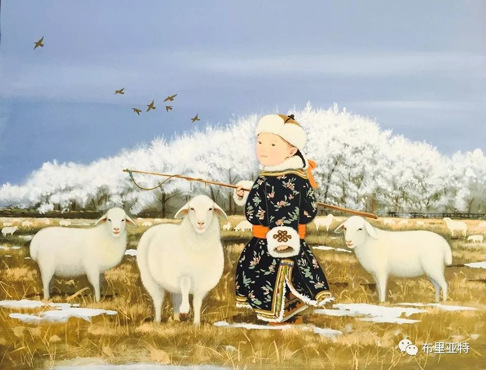 旅日草原画家Oogonbair作品欣赏,太喜欢了 第11张