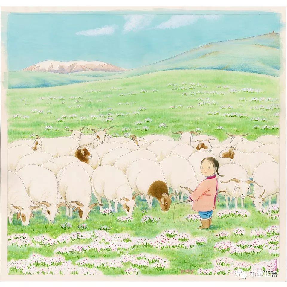 旅日草原画家Oogonbair作品欣赏,太喜欢了 第16张