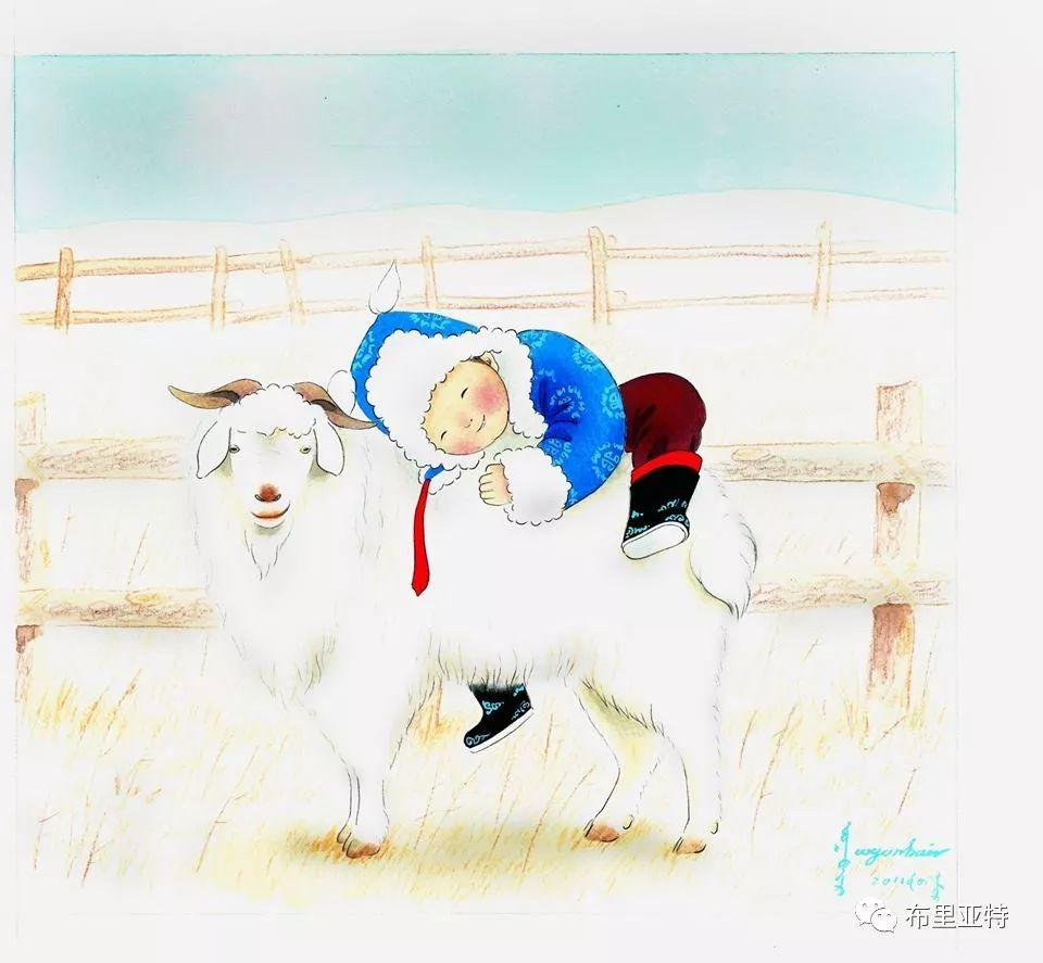 旅日草原画家Oogonbair作品欣赏,太喜欢了 第15张
