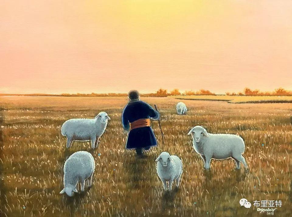 旅日草原画家Oogonbair作品欣赏,太喜欢了 第19张