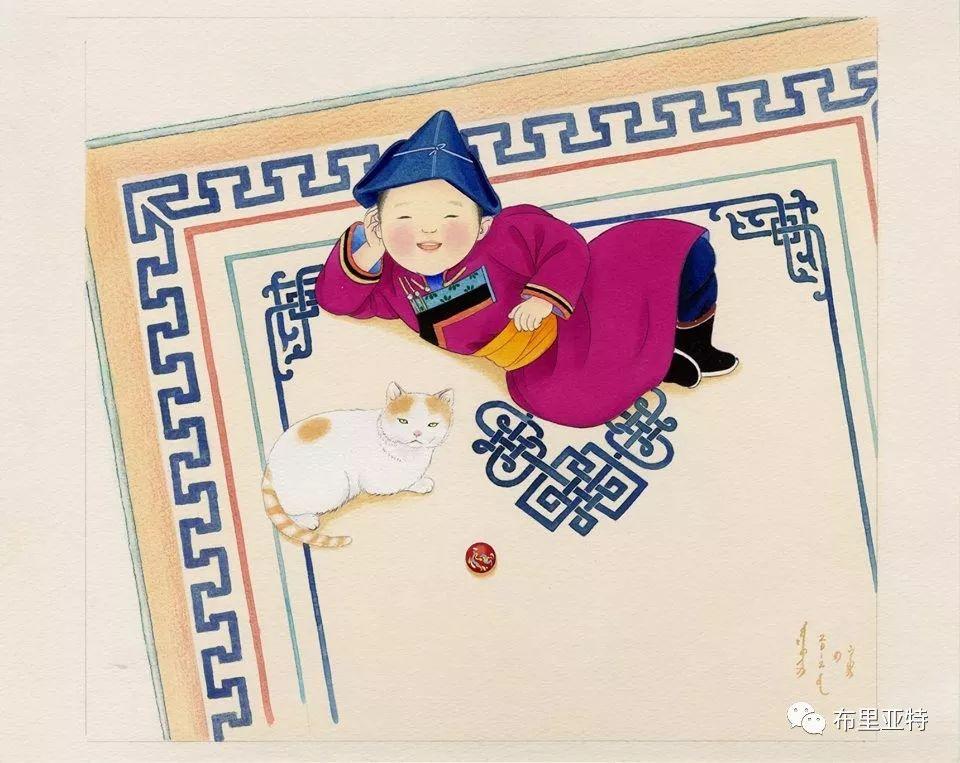 旅日草原画家Oogonbair作品欣赏,太喜欢了 第17张