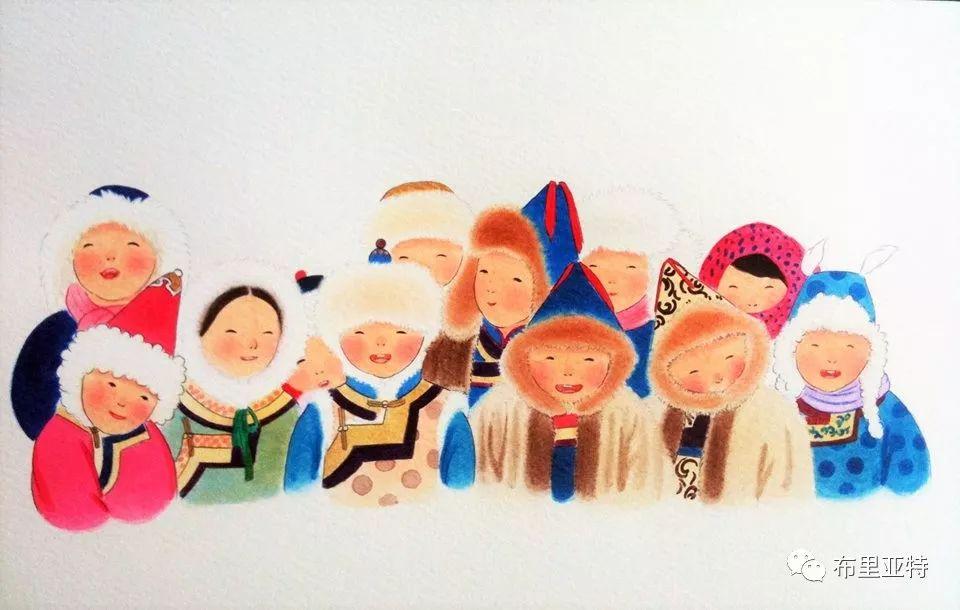 旅日草原画家Oogonbair作品欣赏,太喜欢了 第26张