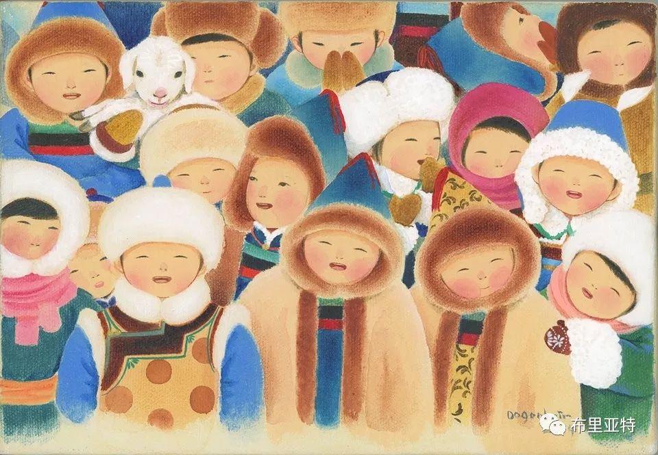 旅日草原画家Oogonbair作品欣赏,太喜欢了 第25张