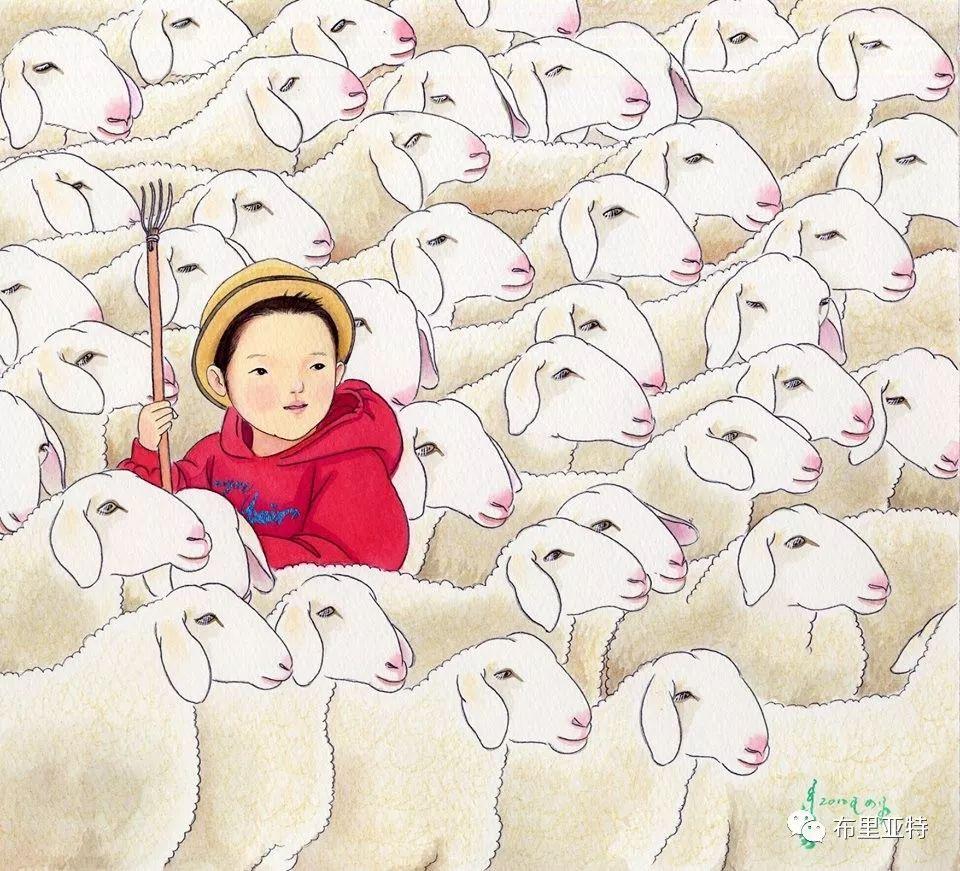旅日草原画家Oogonbair作品欣赏,太喜欢了 第23张