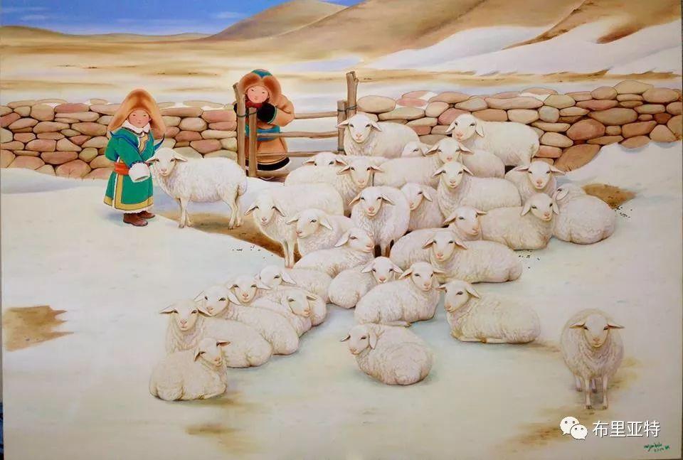 旅日草原画家Oogonbair作品欣赏,太喜欢了 第29张