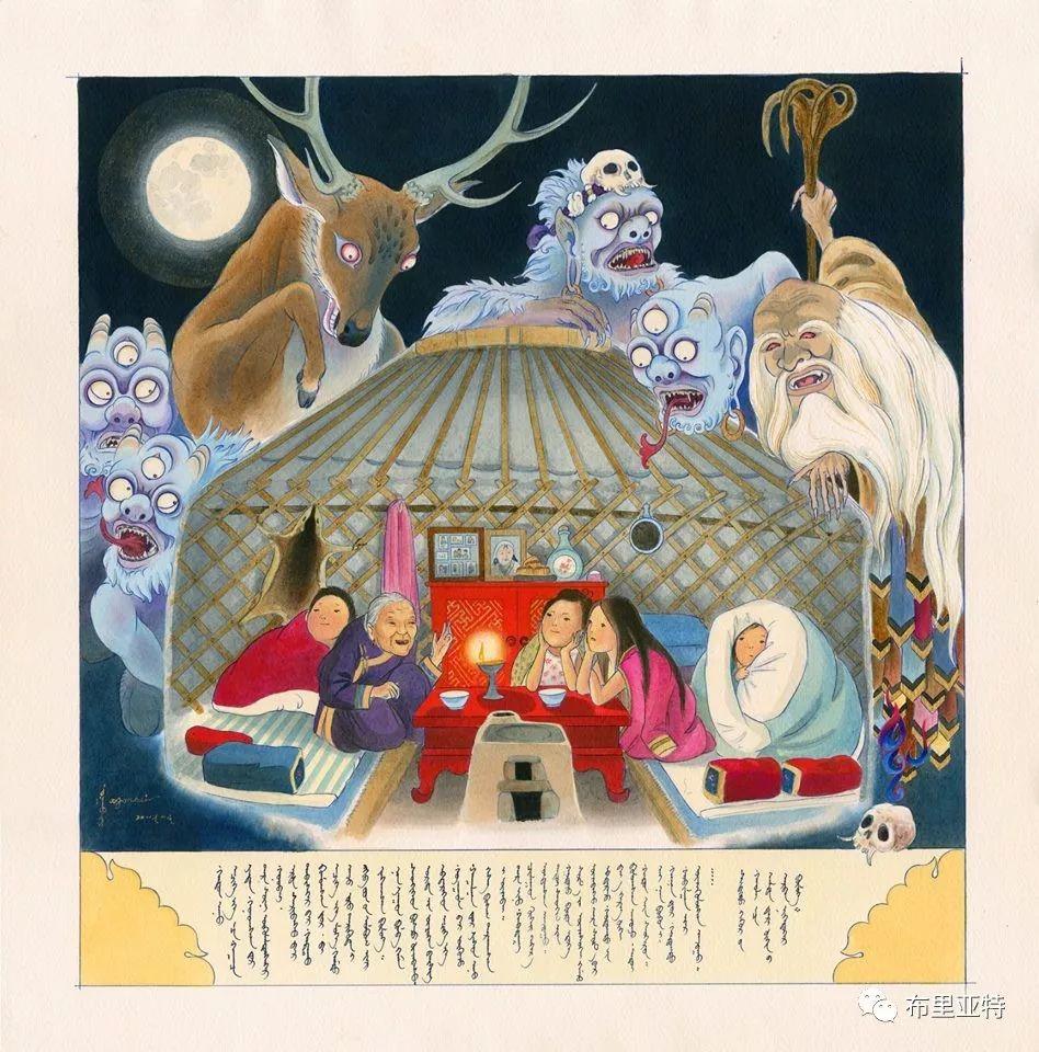 旅日草原画家Oogonbair作品欣赏,太喜欢了 第28张