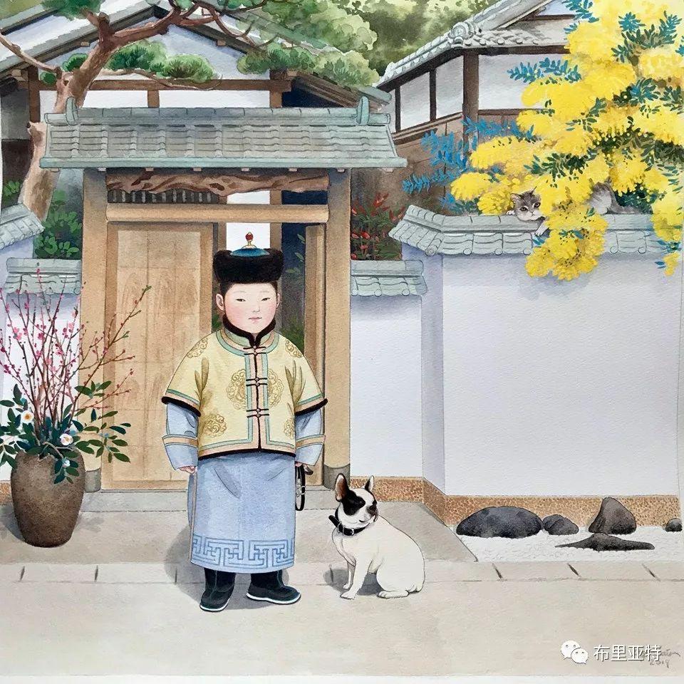 旅日草原画家Oogonbair作品欣赏,太喜欢了 第34张
