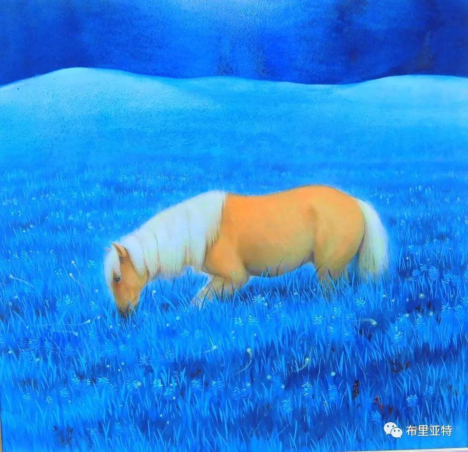 旅日草原画家Oogonbair作品欣赏,太喜欢了 第39张