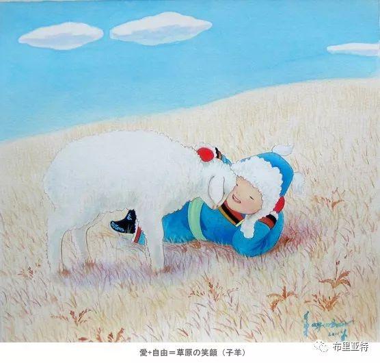 旅日草原画家Oogonbair作品欣赏,太喜欢了 第42张