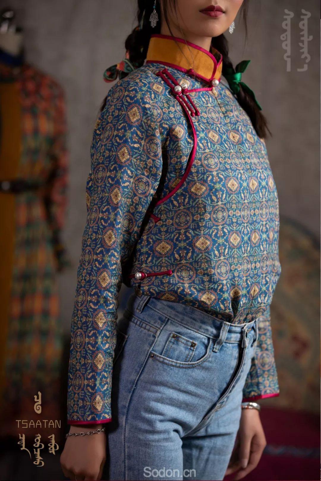 TSAATAN蒙古时装 2019夏季新款首发 第4张