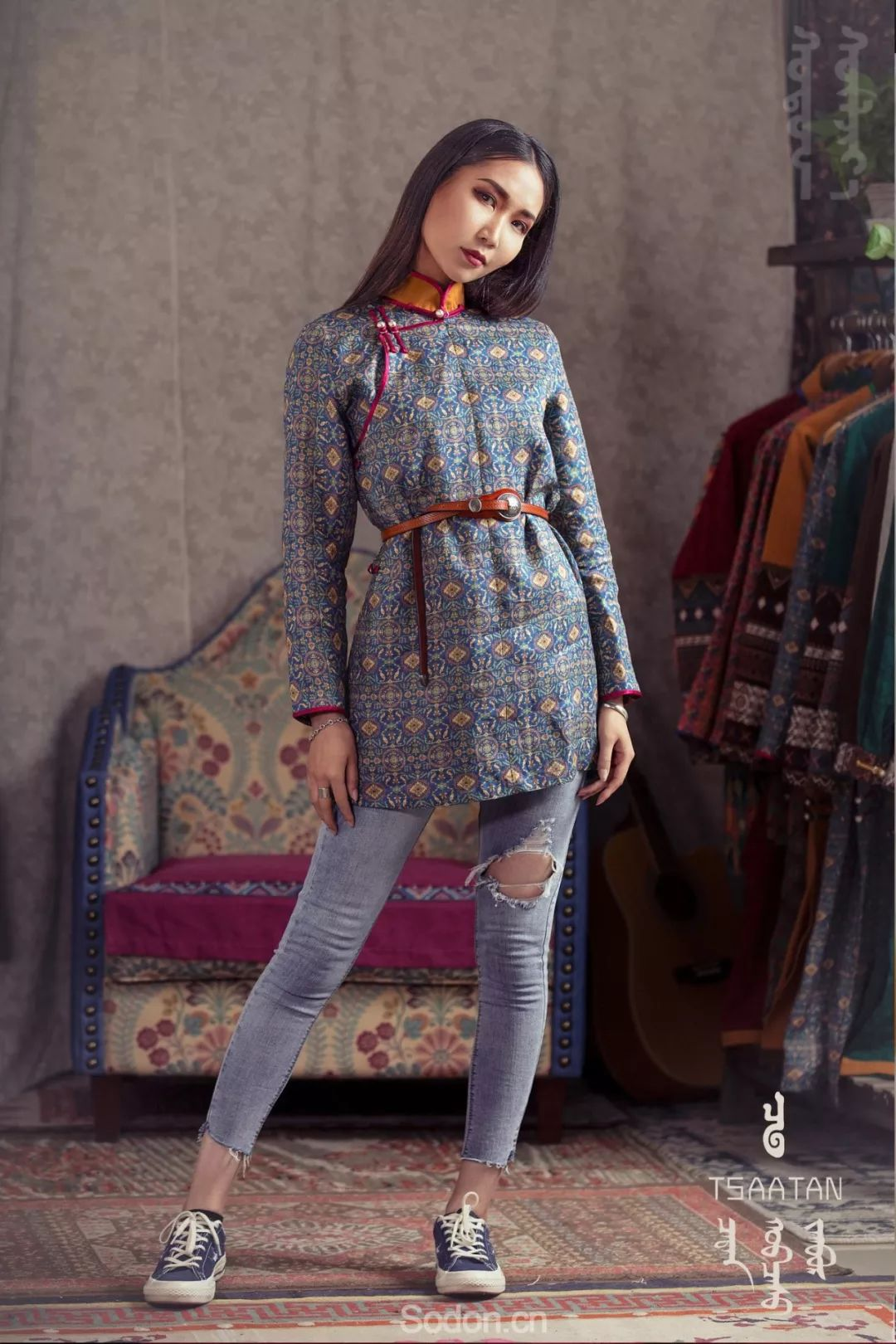 TSAATAN蒙古时装 2019夏季新款首发 第20张