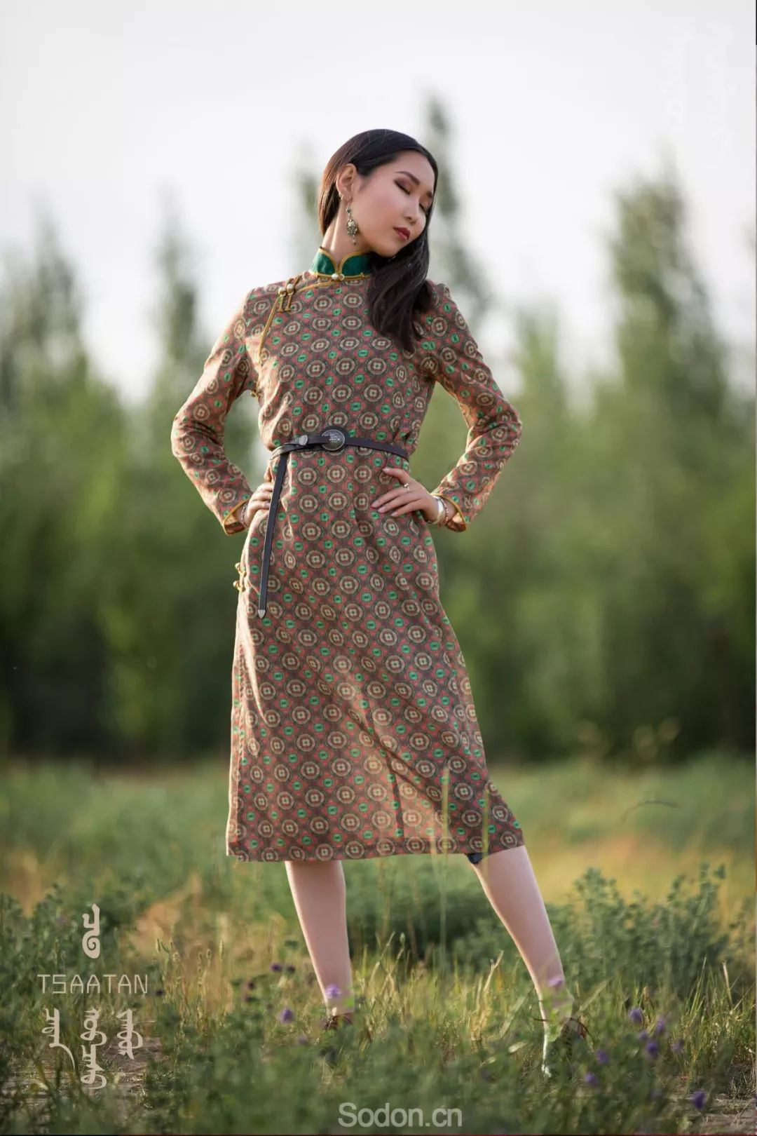 TSAATAN蒙古时装 2019夏季新款首发 第23张