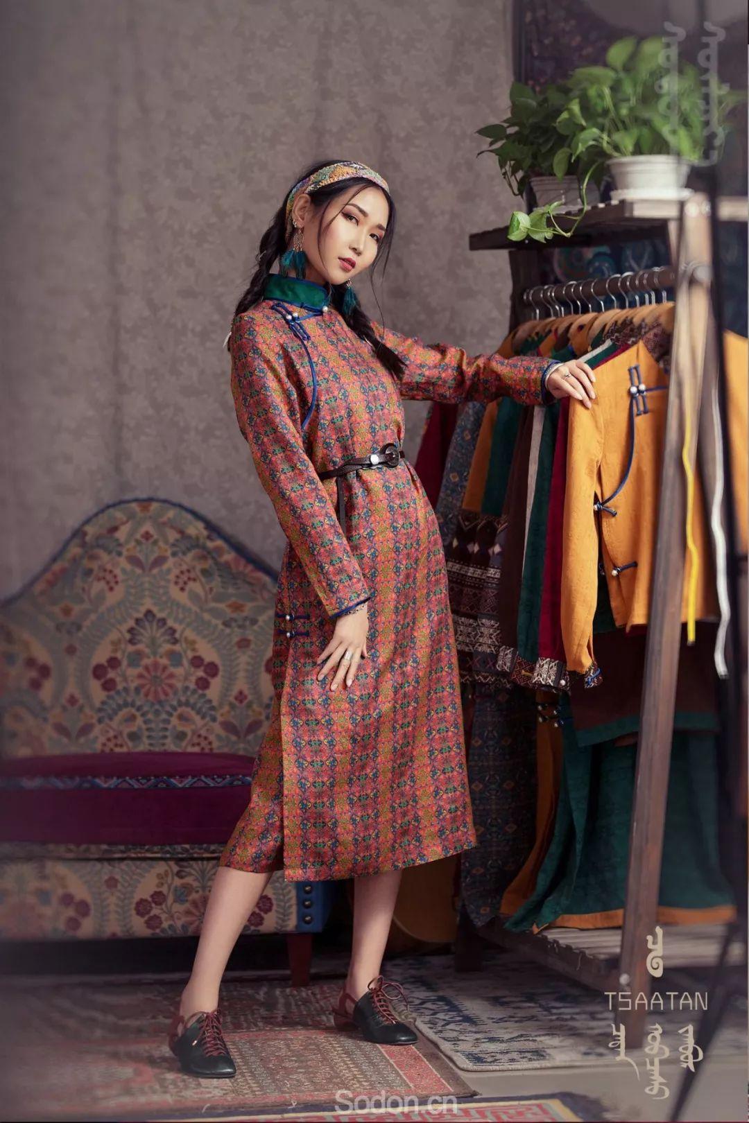 TSAATAN蒙古时装 2019夏季新款首发 第28张
