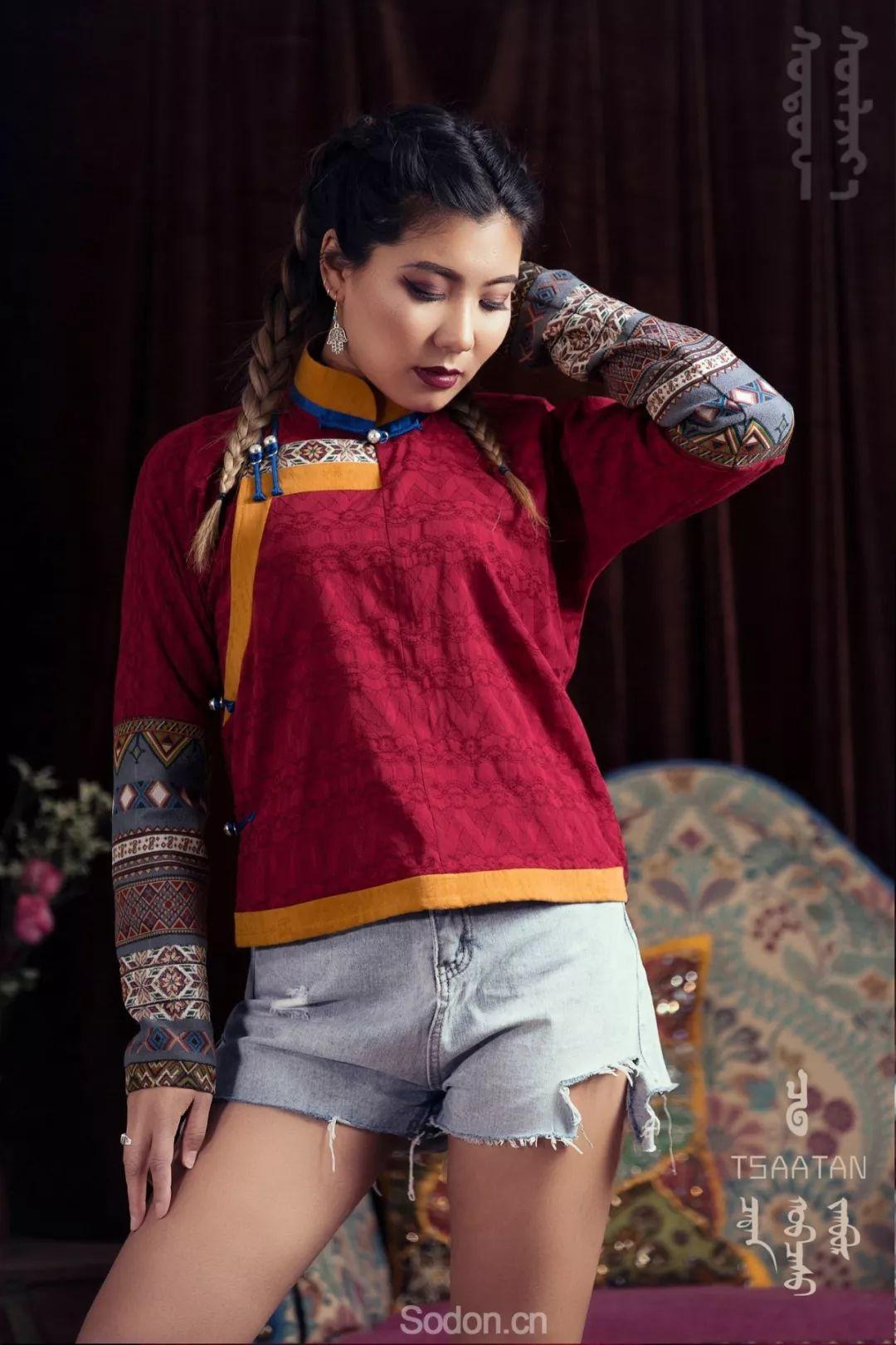 TSAATAN蒙古时装 2019夏季新款首发 第34张