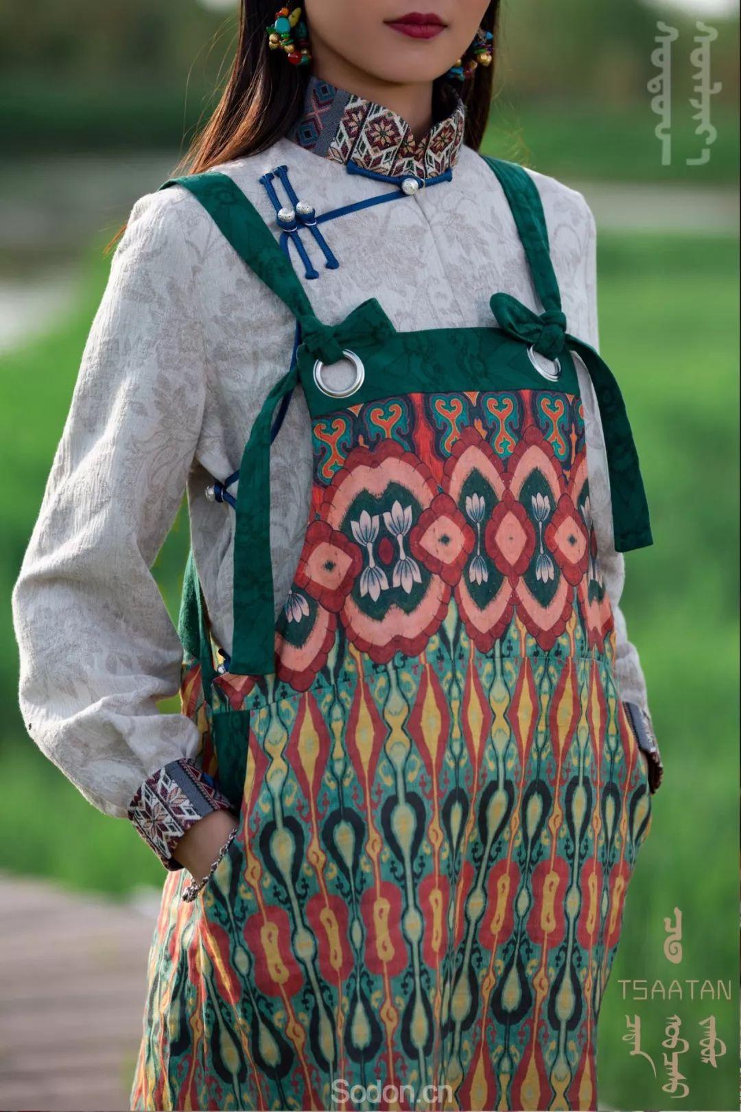 TSAATAN蒙古时装 2019夏季新款首发 第77张