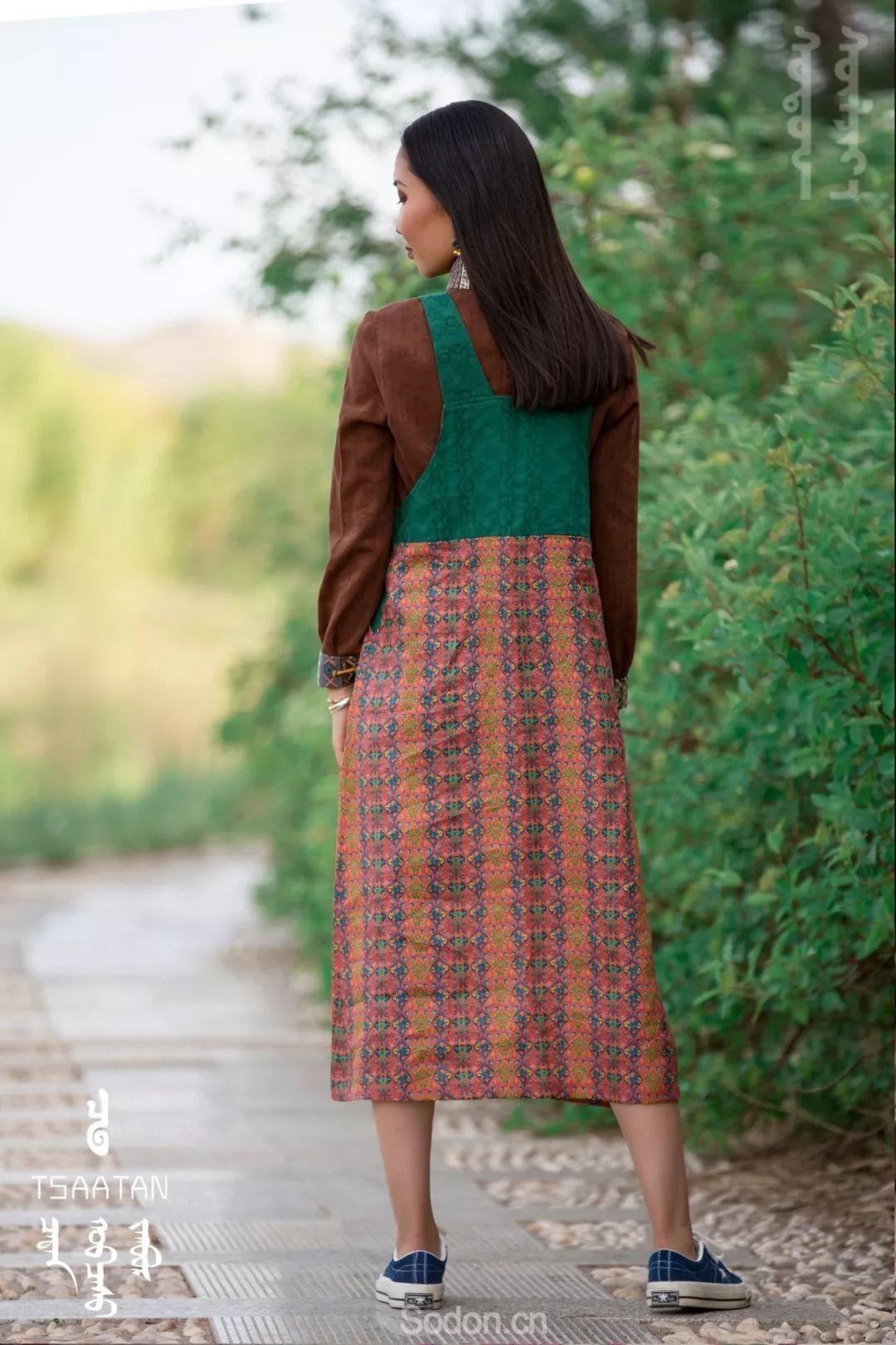 TSAATAN蒙古时装 2019夏季新款首发 第83张