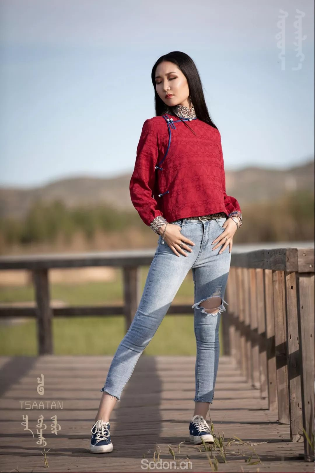 TSAATAN蒙古时装 2019夏季新款首发 第100张