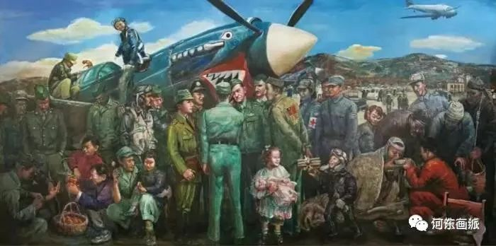 【河东画派】中国艺术家协会副主席——巴特尔·林甲 第17张