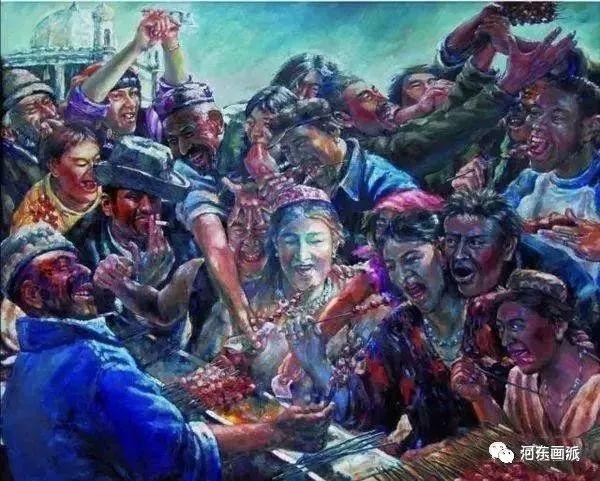 【河东画派】中国艺术家协会副主席——巴特尔·林甲 第20张