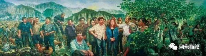 【河东画派】中国艺术家协会副主席——巴特尔·林甲 第23张