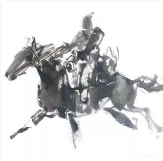 【绘画】画家包布和笔下的蒙古马,简直栩栩如生 第7张
