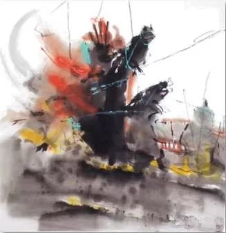 【绘画】画家包布和笔下的蒙古马,简直栩栩如生 第8张