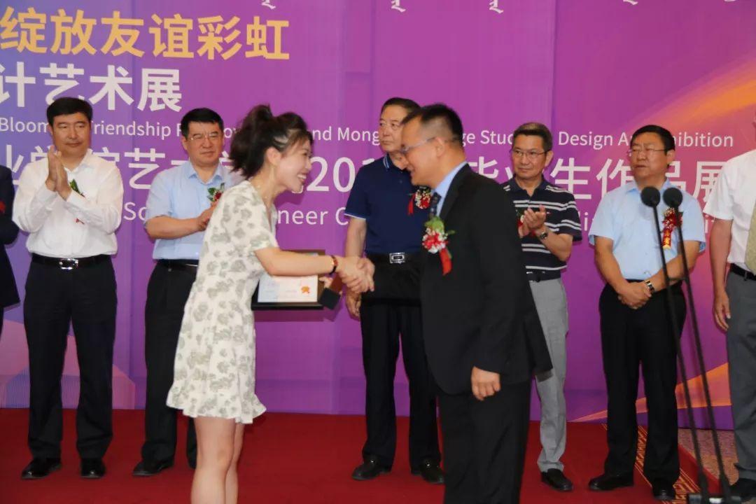 内蒙古大学创业学院与蒙古国高校联合举办设计艺术展 第1张
