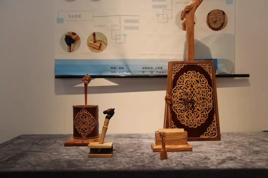 内蒙古大学创业学院与蒙古国高校联合举办设计艺术展 第11张