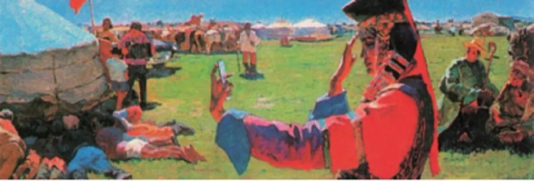 【艺术】蒙古国现当代绘画艺术的起源 第1张