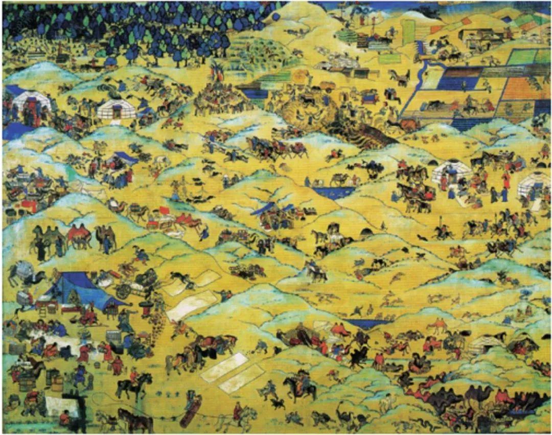 【艺术】蒙古国现当代绘画艺术的起源 第2张