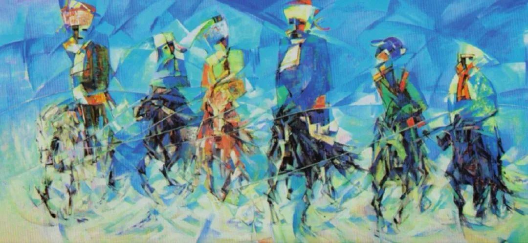 【艺术】蒙古国现当代绘画艺术的起源 第4张