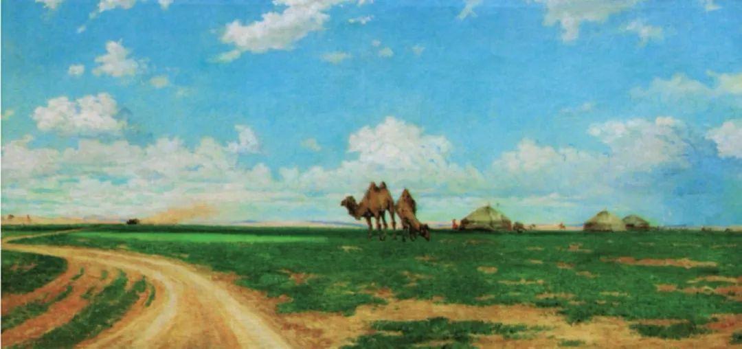 【艺术】蒙古国现当代绘画艺术的起源 第5张