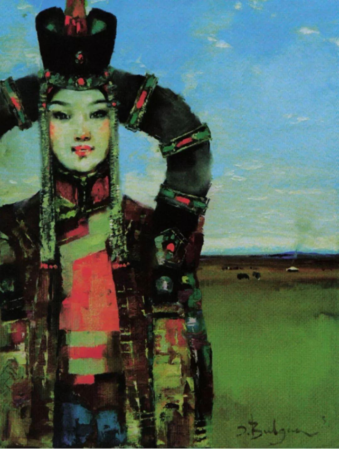 【艺术】蒙古国现当代绘画艺术的起源 第6张