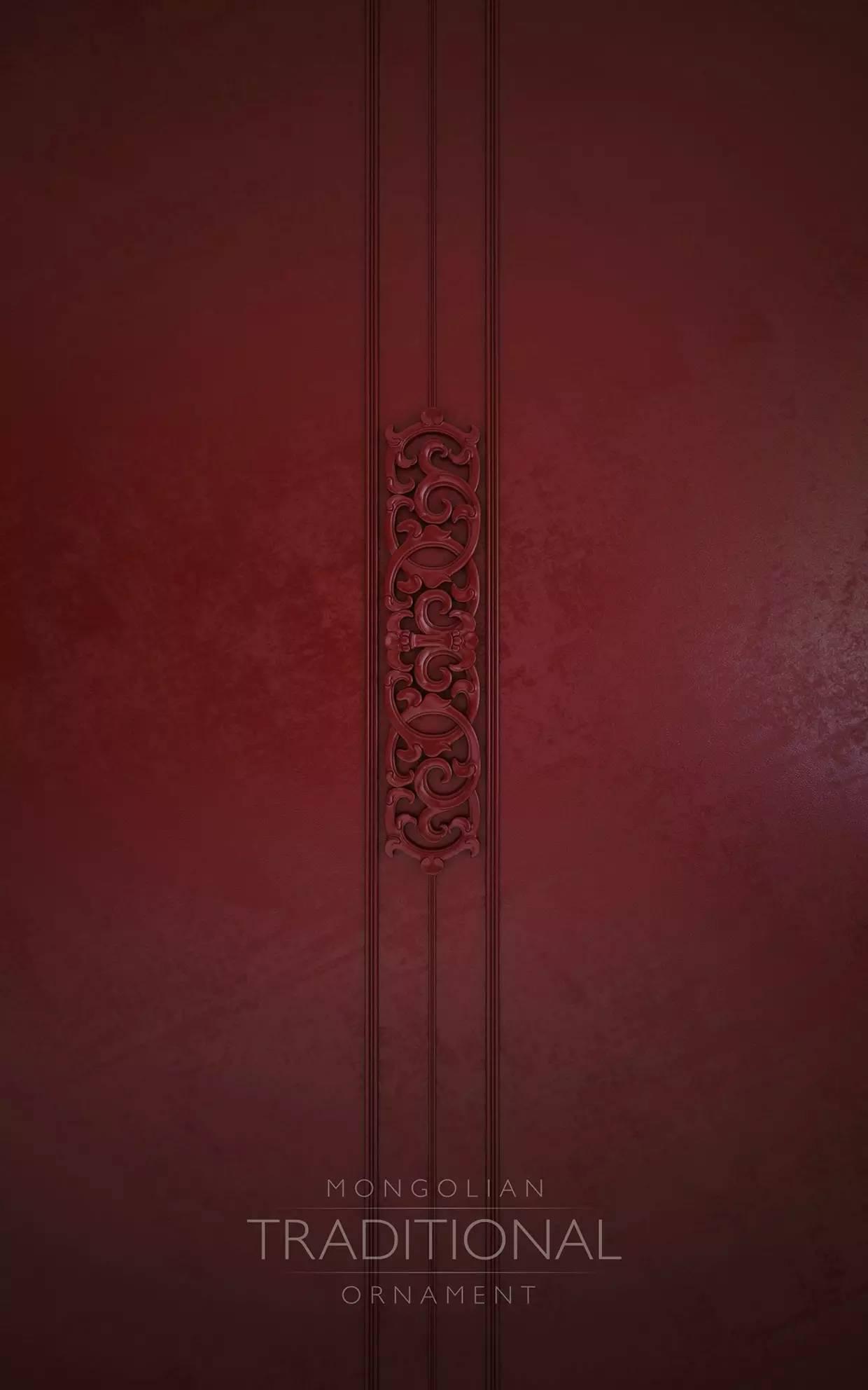 室内设计|蒙族传统装饰(Mongolian Traditional Ornament) 第2张