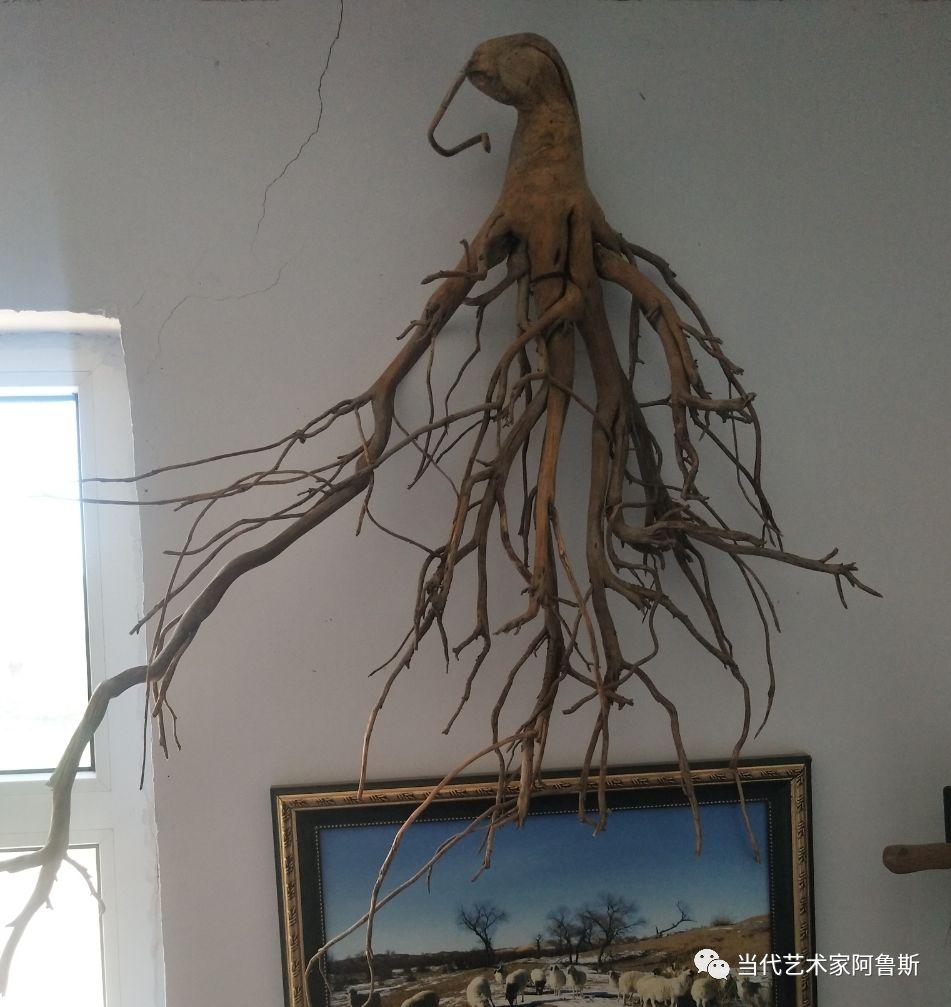 锡林郭勒草原民间艺人阿拉腾敖都的根雕艺术作品欣赏 第17张