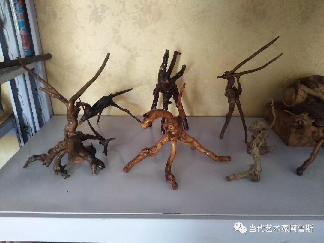 锡林郭勒草原民间艺人阿拉腾敖都的根雕艺术作品欣赏 第18张