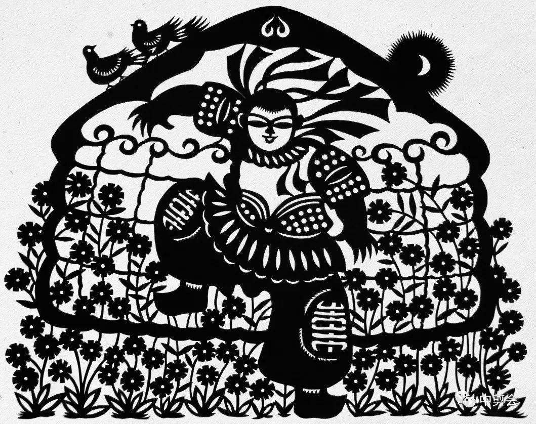 游唱游剪——记荣凤敏与她剪纸艺术中的草原风韵 第24张