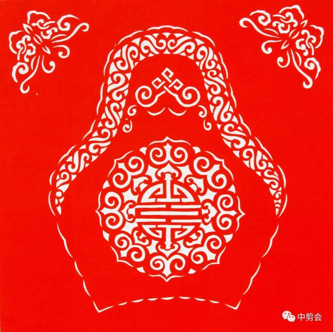 游唱游剪——记荣凤敏与她剪纸艺术中的草原风韵 第27张