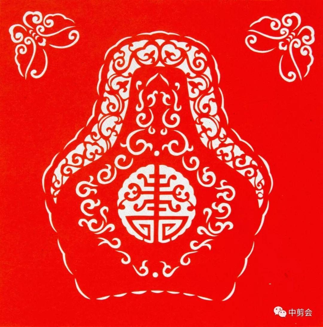 游唱游剪——记荣凤敏与她剪纸艺术中的草原风韵 第28张