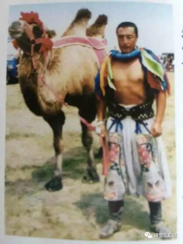 【蒙古图片】搏克老照片…… 第10张