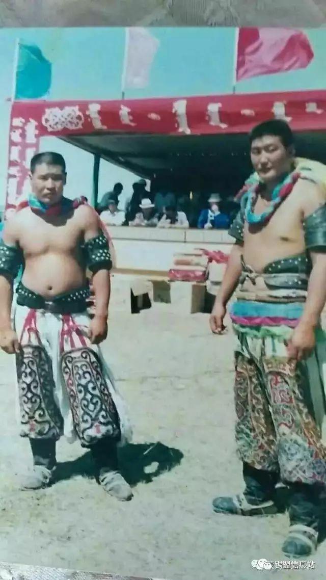 【蒙古图片】搏克老照片…… 第8张