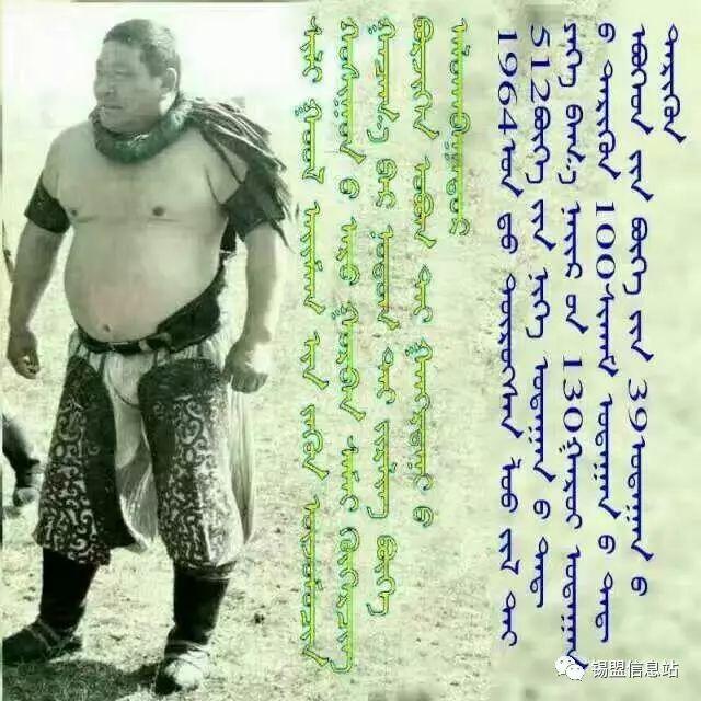 【蒙古图片】搏克老照片…… 第11张