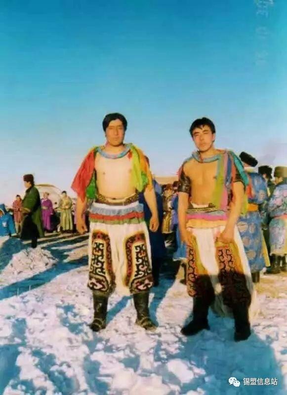【蒙古图片】搏克老照片…… 第16张
