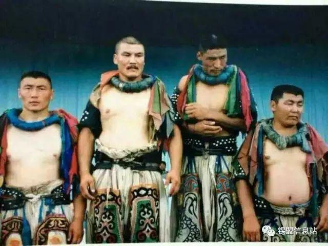 【蒙古图片】搏克老照片…… 第26张