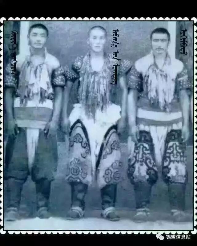 【蒙古图片】搏克老照片…… 第30张