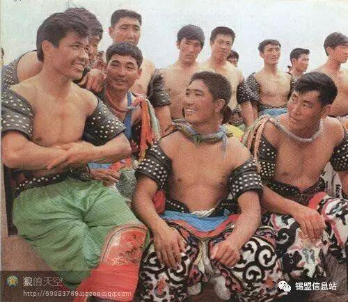 【蒙古图片】搏克老照片…… 第38张