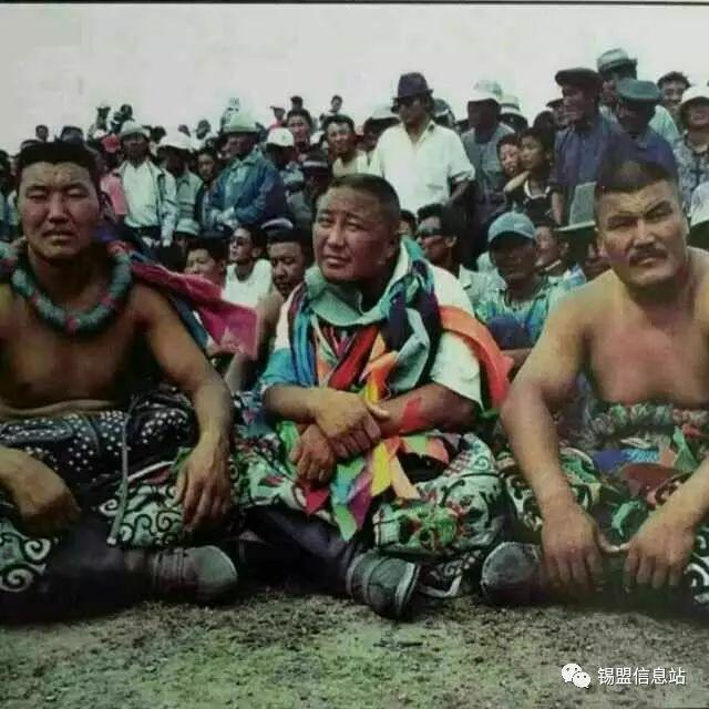 【蒙古图片】搏克老照片…… 第42张